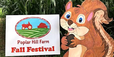 Poplar Hill Farm Fall Festival tickets