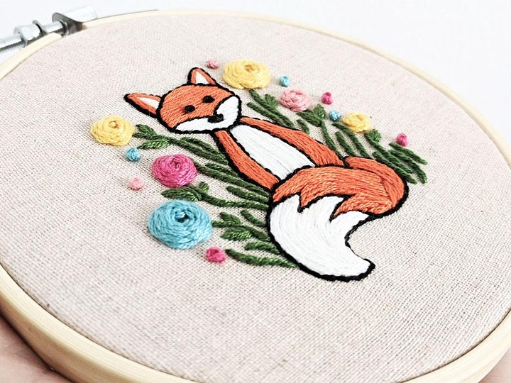Embroidery Fox Workshop image