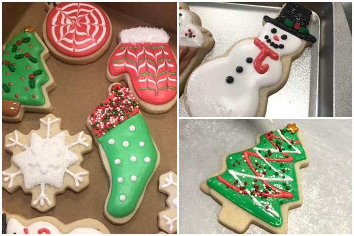 Cookie Decorating Class: Christmas Sugar Cookie Decorating Class image