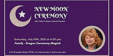 New Moon Ceremony - Family tickets