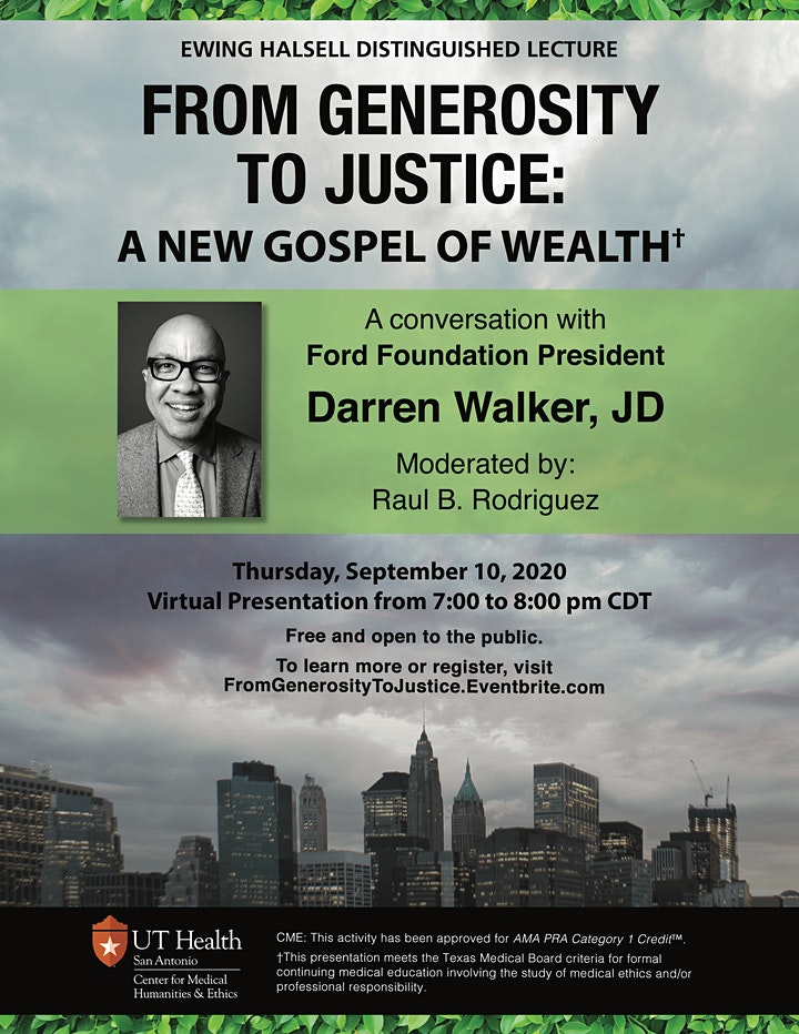 From Generosity to Justice: A New Gospel of Wealth image