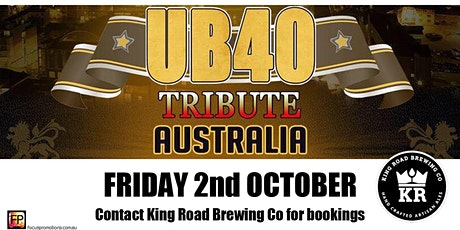 UB40 Tribute Show tickets
