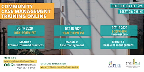 Community Case Management Training - SEATS ARE FULL tickets