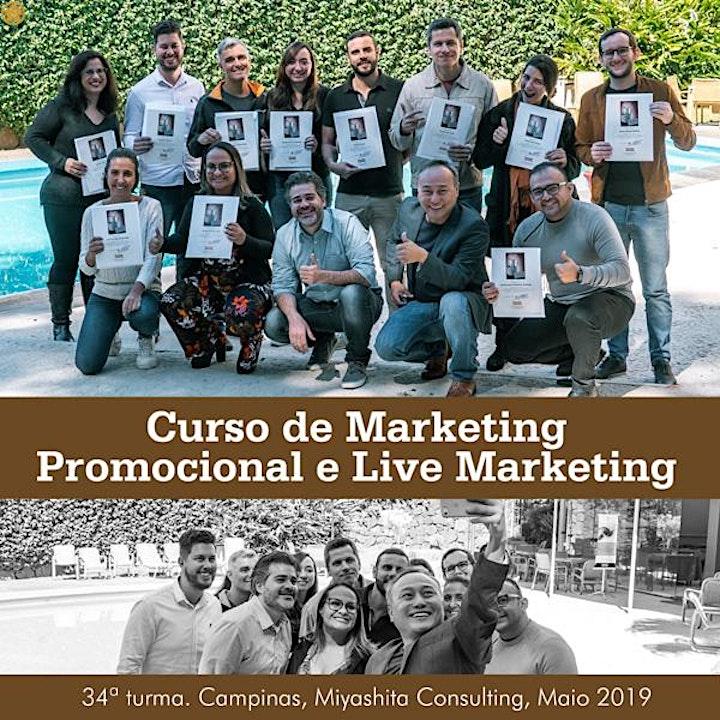 Imagem do evento Curso de Marketing Promocional e Live Marketing - 36ª turma. Em São Paulo