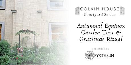 Pyrite Sun's Autumnal Equinox Garden Tour & Gratitude Ritual tickets