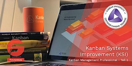 Kanban Systeme verbessern (Kanban Management Professional II) - VIRTUELL Tickets