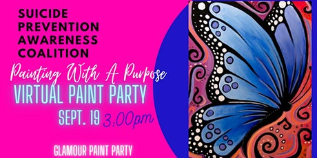 Painting With A Purpose Virtual Paint Party tickets