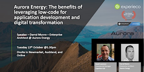 Aurora Energy: Leveraging low-code for application development tickets