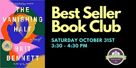 Best Seller Book Club - The Vanishing Half by Brit Bennett tickets