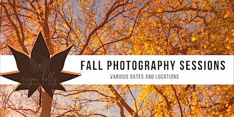 Fall  Photo Sessions - September 26 - Waterfall Glen - Lemont tickets
