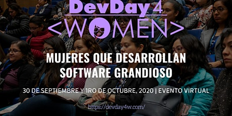 Dev Day 4 Women Virtual entradas