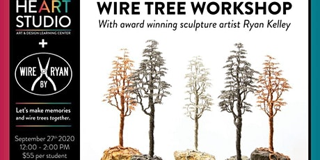 Wire Tree Class at Heart Studio tickets