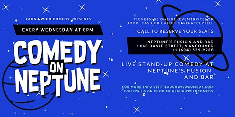 Comedy on Neptune tickets