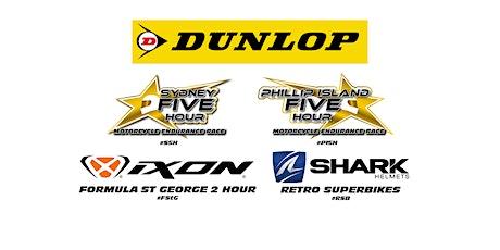 DUNLOP Sydney 5 Hour Endurance Race Weekend tickets