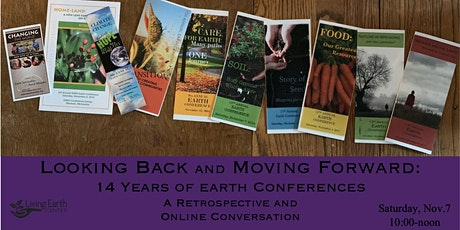 Looking Back and Moving Forward: 14 Years of Earth Conferences tickets