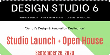 Design Studio 6 - Detroit Launch and Open House tickets