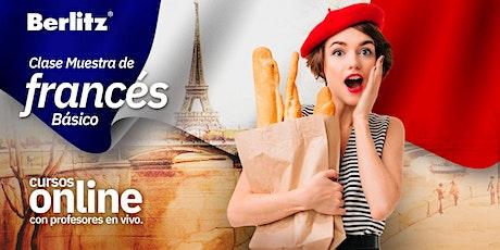 Clase GRATIS! - De Francés Básico OnLine  -  Sábado entradas