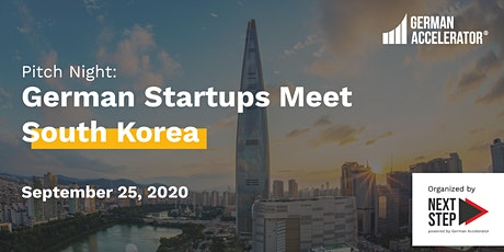 Pitch Night: German Startups Meet South Korea tickets