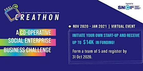 Creathon 2021 tickets