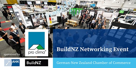 BuildNZ Networking Event  2020 tickets
