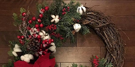 Virtual Holiday Wreath Making Party tickets