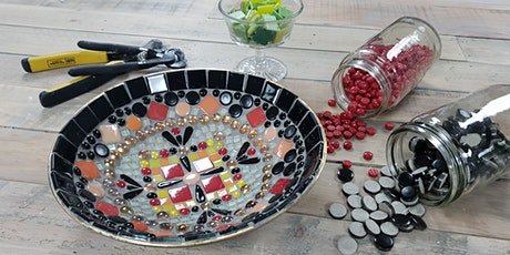 Mosaic bowl workshop tickets