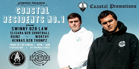 Starters Presents: Coastal Residents #1  - Dunedin tickets