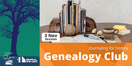 Genealogy Club: Journaling your history tickets