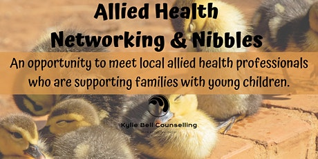Allied/Complementary Health Networking and Nibbles tickets