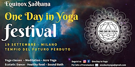 One Day In Yoga Festival - Equinox Sadhana biglietti