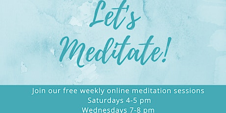Let's Meditate tickets