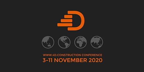 4D CONSTRUCTION GROUP - DIGITAL CONFERENCE 2020 tickets