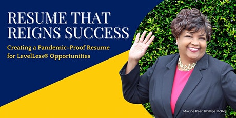 Resume That Reigns Success tickets
