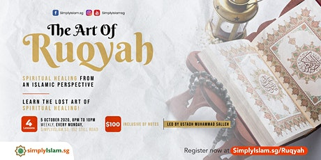 The Art of Ruqyah: Spiritual Healing from an Islamic Perspective tickets
