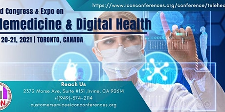 World Congress & Expo on Telemedicine & Digital Health tickets