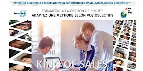 King of sales - Formation à la gestion de projet billets