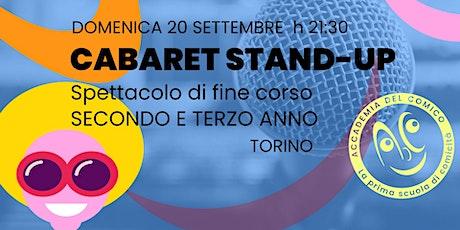 Cabaret Stand-up 2°e 3°a - Torino biglietti