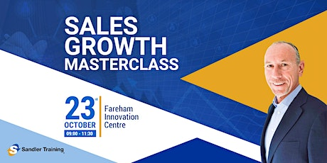 Sales Growth Masterclass tickets
