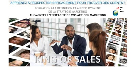 King of Sales - Formation : définir et déployer votre stratégie marketing billets