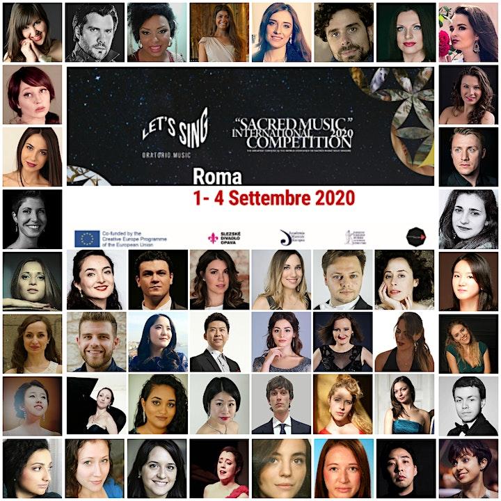 Immagine Finale 4/09 Concorso Int. Musica Sacra 2020 - Let's Sing Oratorio Music!