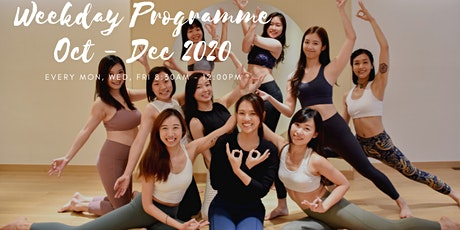 Oct - Dec 2020 Weekday 200H YOGA ALLIANCE ACCREDITED TEACHER TRAINING PROG tickets