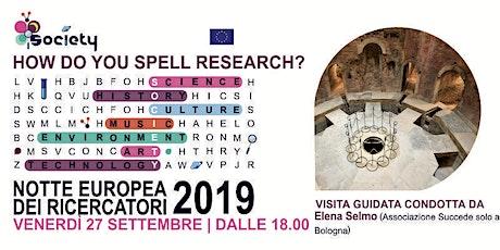 """La Conserva di Valverde nella """"Notte Europea dei Ricercatori"""" (Gratis) biglietti"""