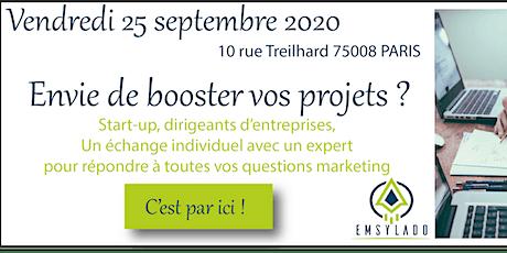 Start-up, TPE, PME : les réponses à vos questions marketing et commerciales billets