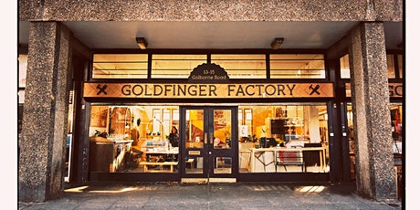 Tour of Goldfinger Factory, Trellick Tower - Open House Weekend tickets
