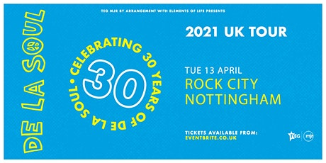 De La Soul - Celebrating 30 Years of De La Soul (Rock City, Nottingham) tickets