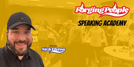 Forging People Speaking Academy - November 2020 tickets