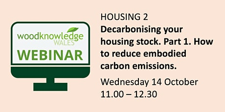 Housing Webinar 2: Decarbonising your housing stock (Part 1) tickets