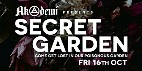 Secret Garden - Akademi's 1st  Birthday Party - Part 1 tickets