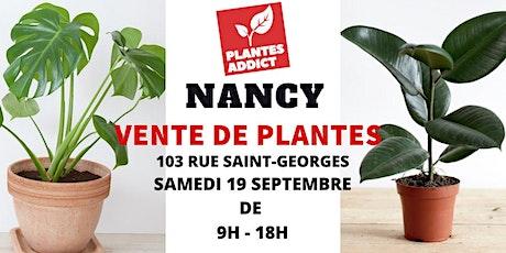 Nancy - Vente de plantes à partir de 1€ by Plantes Addict billets