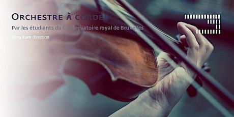 Orchestre à cordes billets